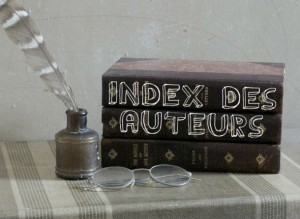 index des auteurs