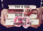 Top 5 des livres les plus lus en ce moment #2