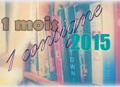 Challenge : 1 mois 1 consigne | Avril 2015