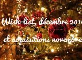 Wish-list, décembre 2014 et acquisitions novembre