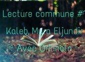 Lecture commune #1 ~ Kaleb, Myra Eljundir ~ Avec Orianelo